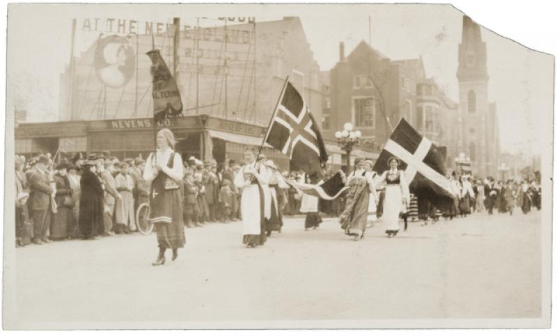 The 1914 Minneapolis Suffrage Parade