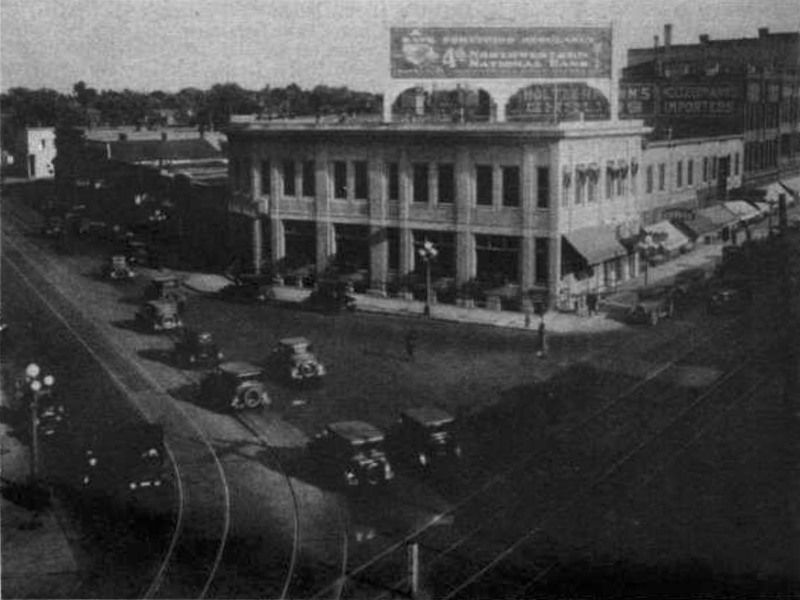 4th Northwestern National Bank, 401 Cedar Avenue, ca. 1928