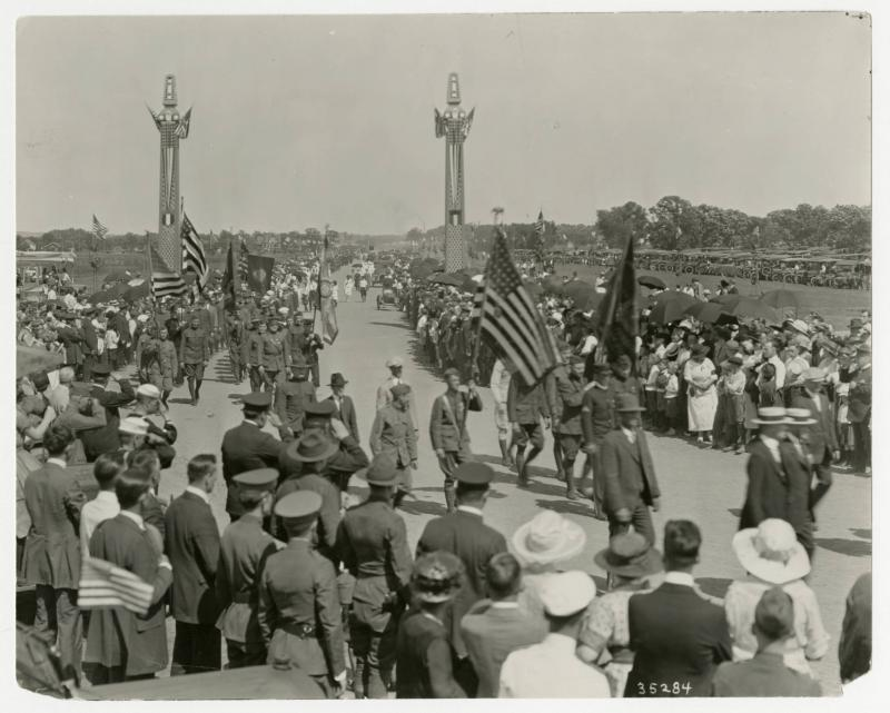 Opening Parade to Victory Memorial Drive Dedication Ceremony