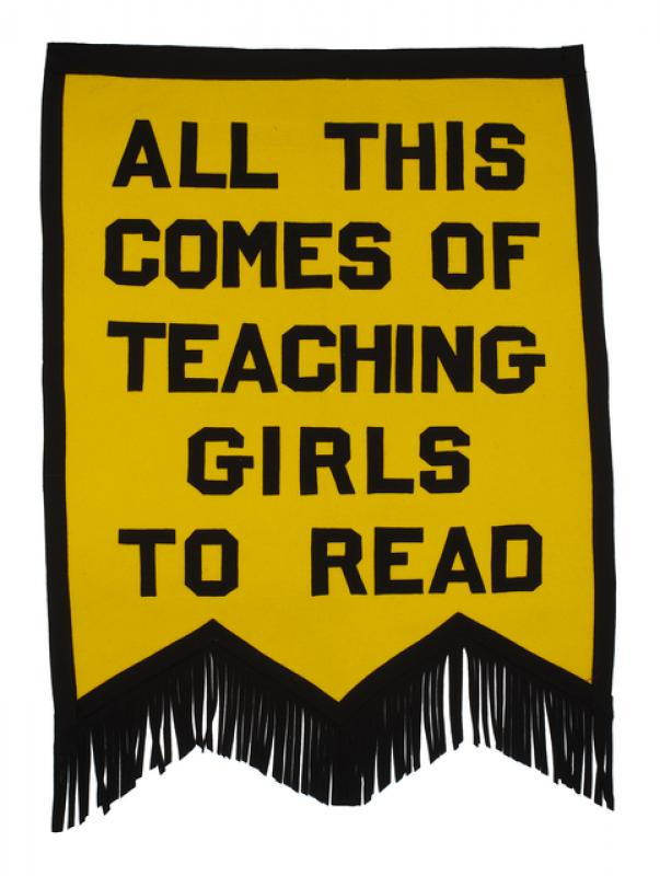 Suffrage Banner, ca. 1920