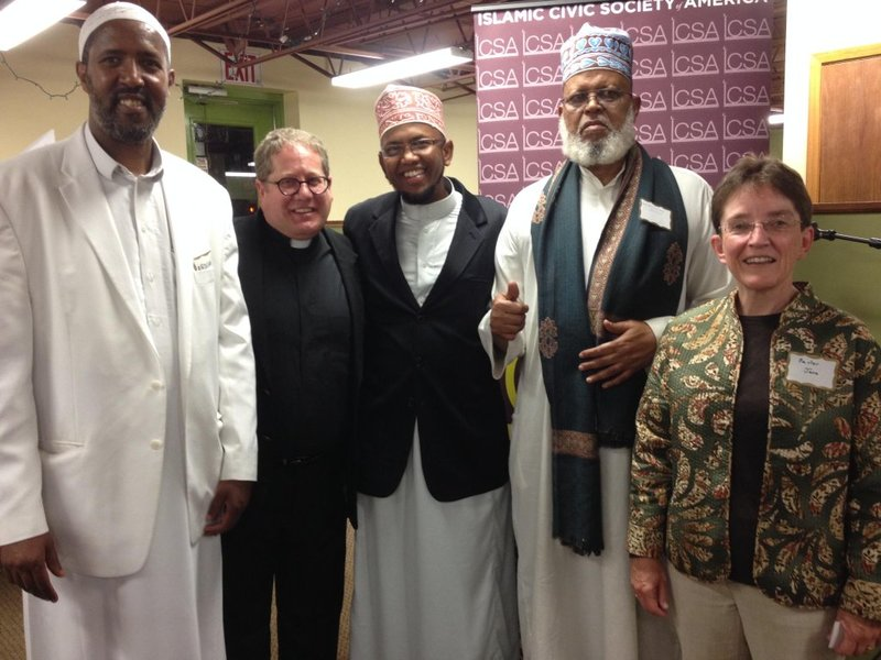 Iftar with Dar Al-Hijrah Mosque and Trinity Lutheran Congregation, 2014