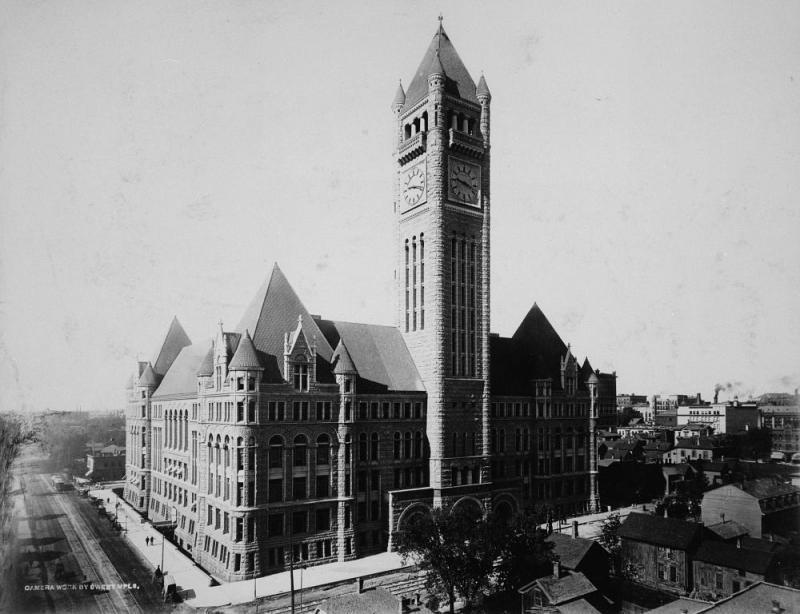 Minneapolis City Hall, ca. 1900