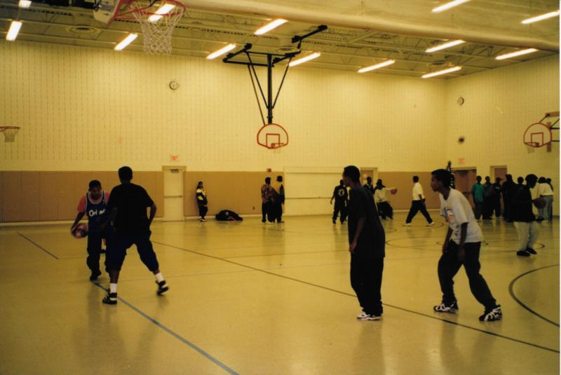 Basketball at the Coyle Center, 1995