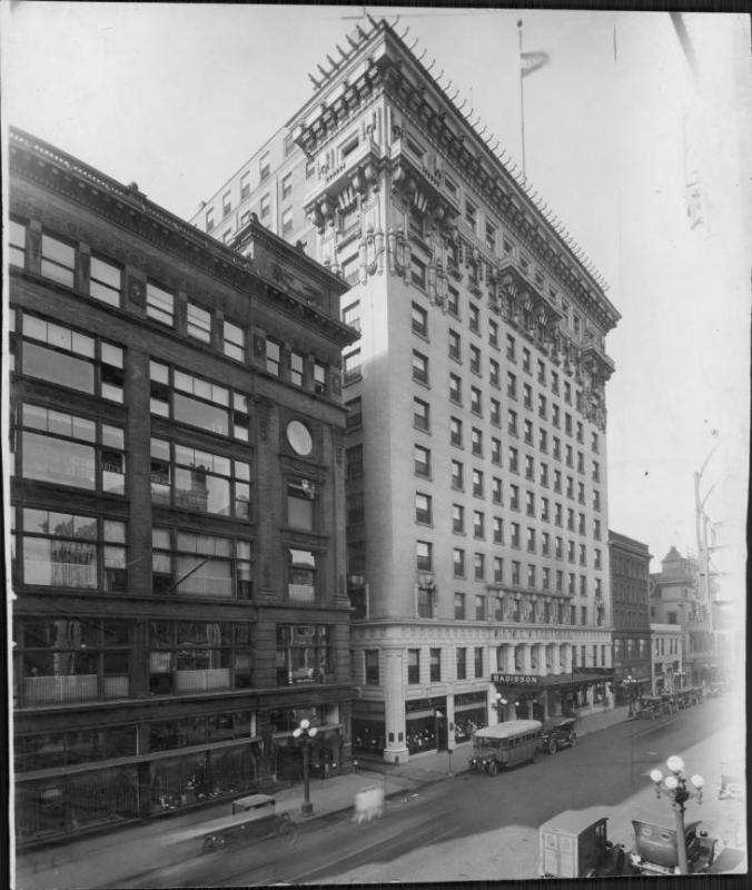 The Radisson Hotel, ca. 1922