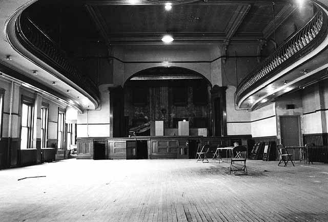 Dania Hall Interior
