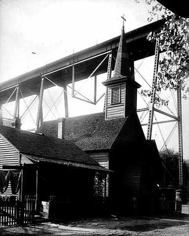 Holy Emmanuel Slovak Lutheran Church, ca. 1900