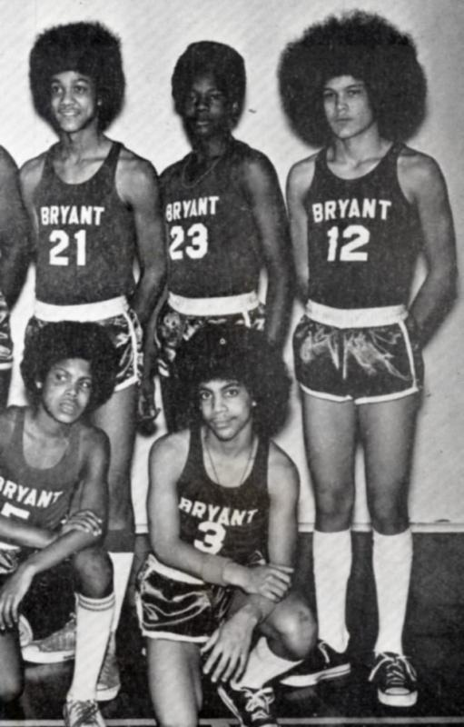 The Bryant Junior High basketball team, 1971.