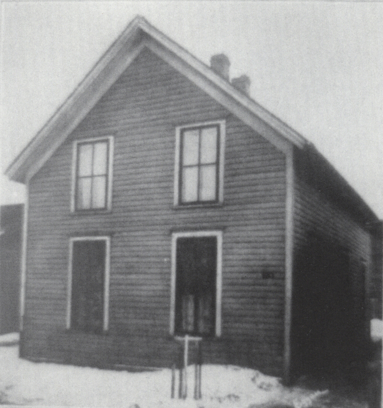 Trinity Lutheran Congregation's First Building, 1868-1870