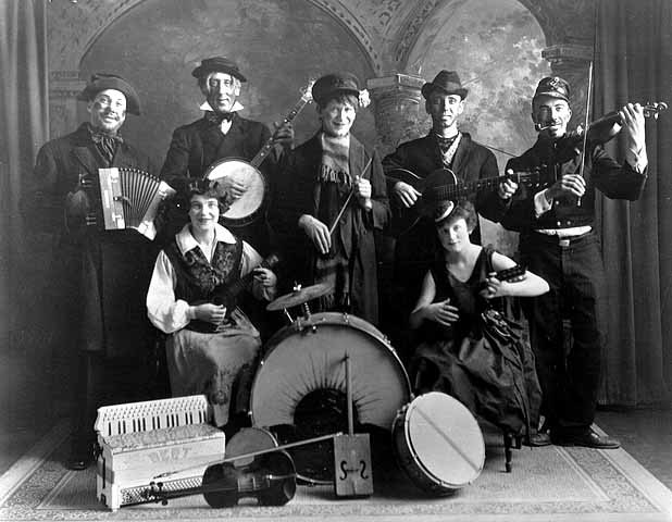 Olle i Skratthult's Hobo Orchestra, 1926