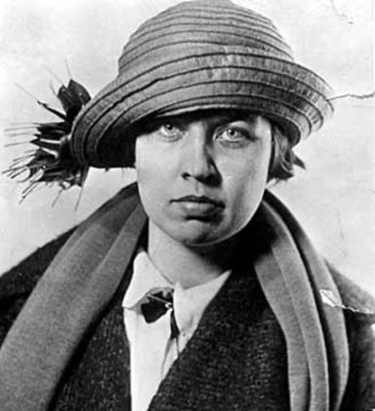 """Myrtle Cain (1894-1980) """"The Flapper Legislator""""<br /><br />"""