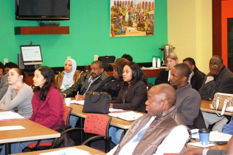 Business Training Class, 2010