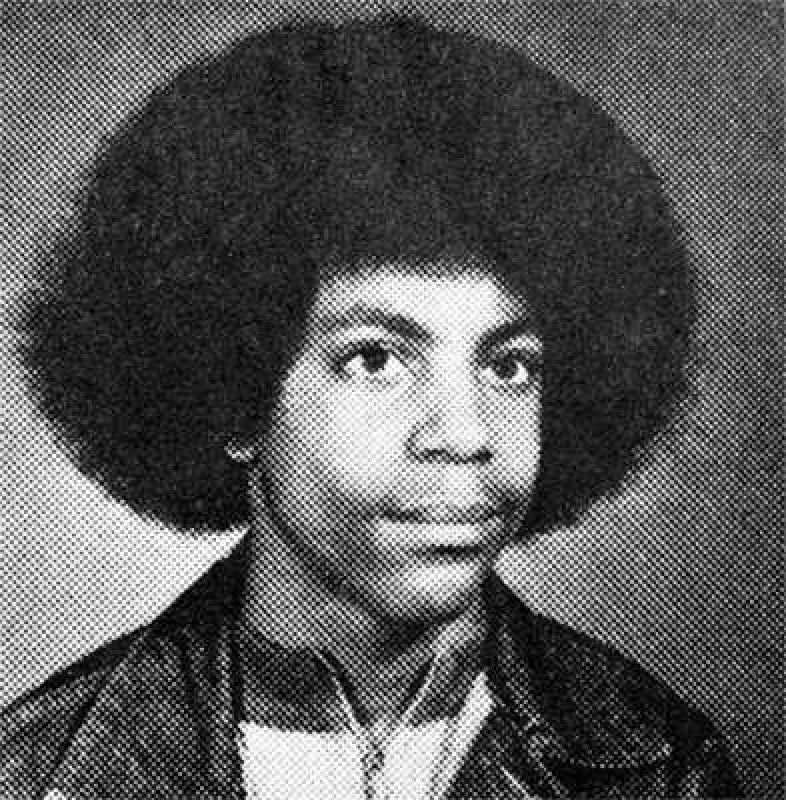 Freshman yearbook photo of Prince Rogers Nelson, Central High School, Minneapolis, 1973