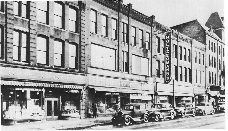 Holtzermann's Chicago Store Company, 417-425 Cedar Avenue, 1930s