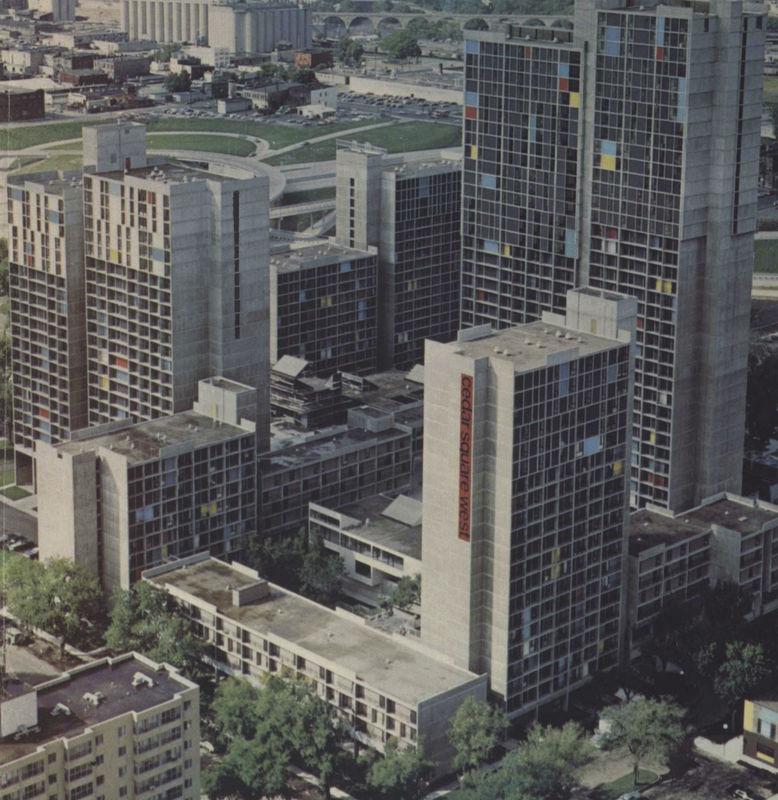 Cedar Square West, ca. 1973