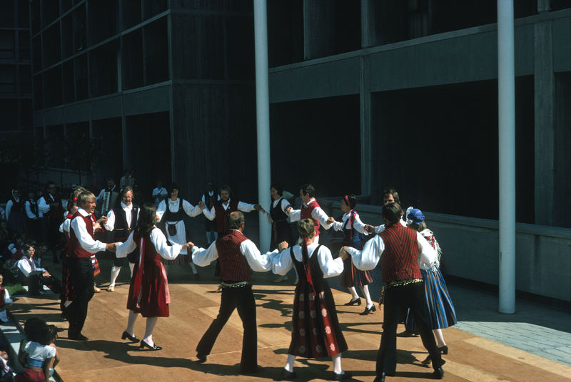 Scandinavian Folk Dancing, 1975