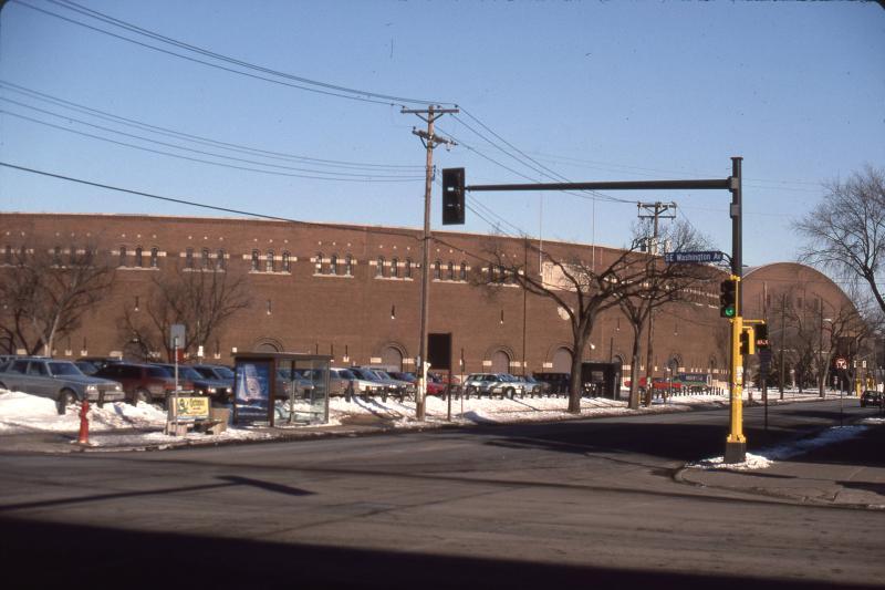 Street View of University of Minnesota's Memorial Stadium