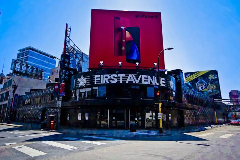 First Avenue exterior, 2018.