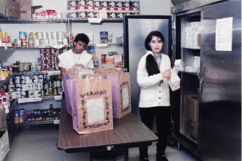 Food Shelf, ca. 1990s