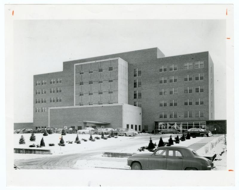 Mount Sinai Hospital, 1950s.
