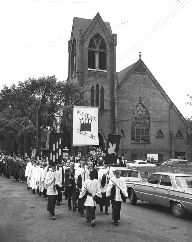 Pentecost Procession, May 29, 1966