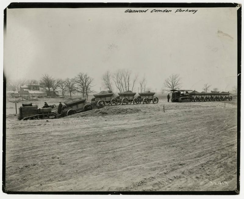 Beginning of Construction for Victory Memorial Drive