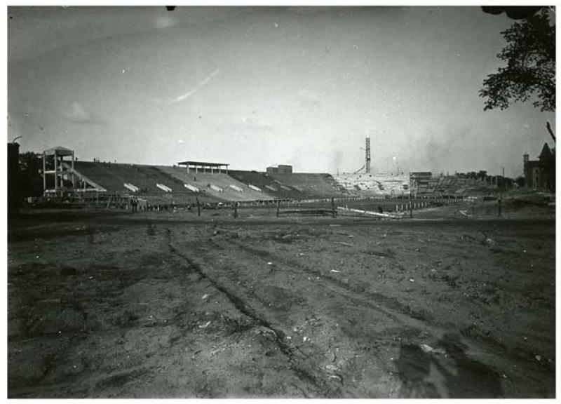 University of Minnesota's Memorial Stadium Under Construction