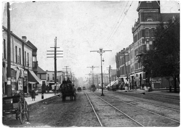 Cedar Avenue, ca. 1890