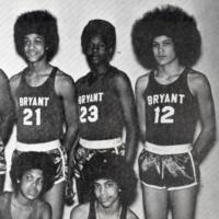The Bryant Junior High basketball team, 1971.