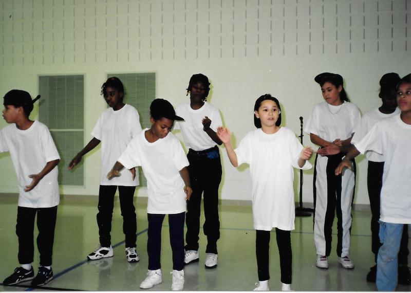 Brian Coyle step dancers, 1993