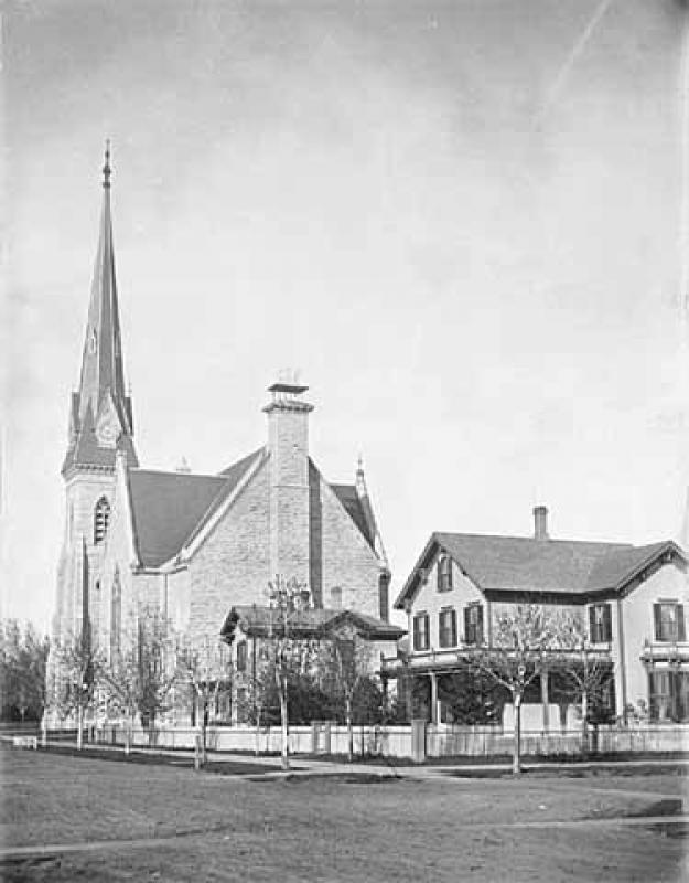 Church of the Redeemer, Eighth Street and Second Avenue South, and Charles H. Hunter residence, 829 Second Avenue South, Minneapolis