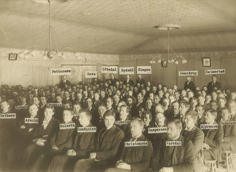 Chapel Service in Old Main, 1897