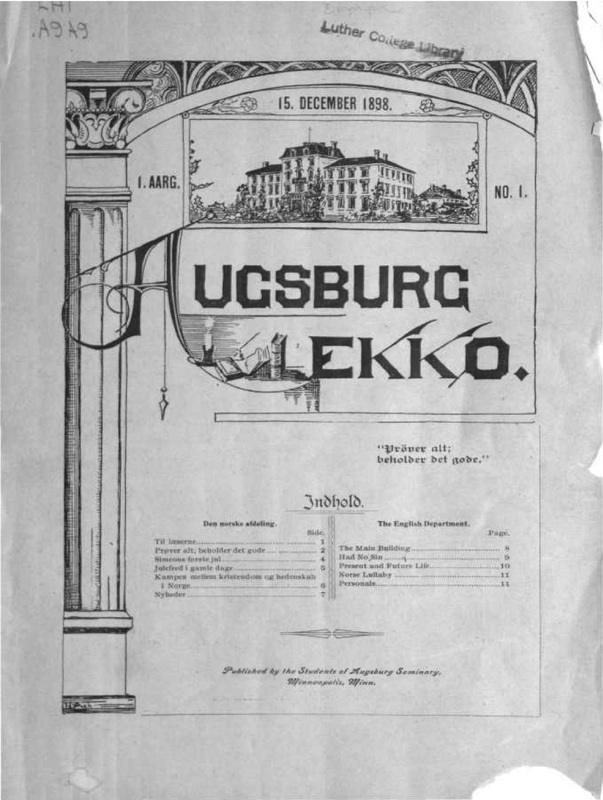 The Augsburg Ekko
