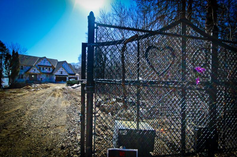Site of former Kiowa Trail home and studio, 2018
