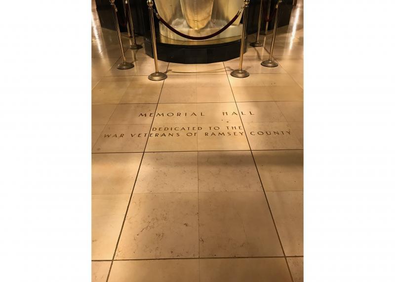 Memorial Hall Dedicatory Inscription.