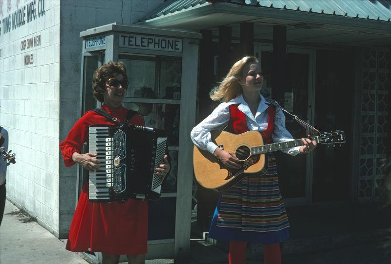 Scandinavian music on the streets