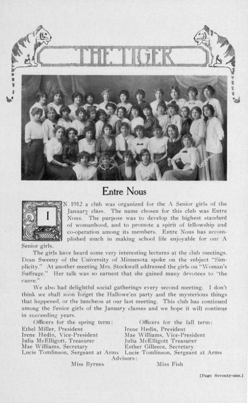Young People and Suffrage Activism