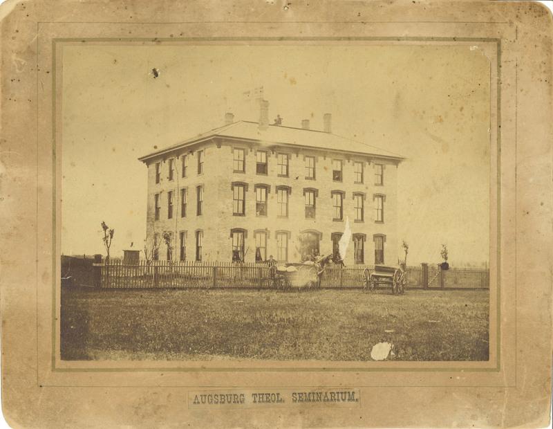 Original Old Main, 1872