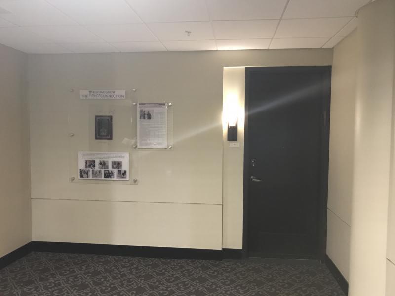 Interior near Owen Husney�™s former office and studio, 2017.