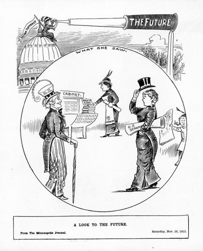 "Charles Bartholomew, ""A Look to the Future,"" <em>Minneapolis Journal</em>, Nov. 29, 1913"
