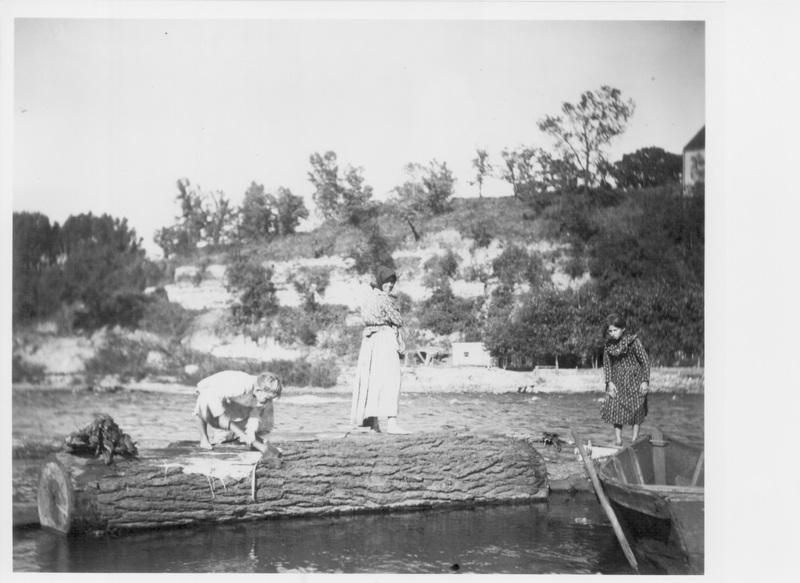 "The ""Wood Gatherers"" on Bohemian Flats, ca. 1930"