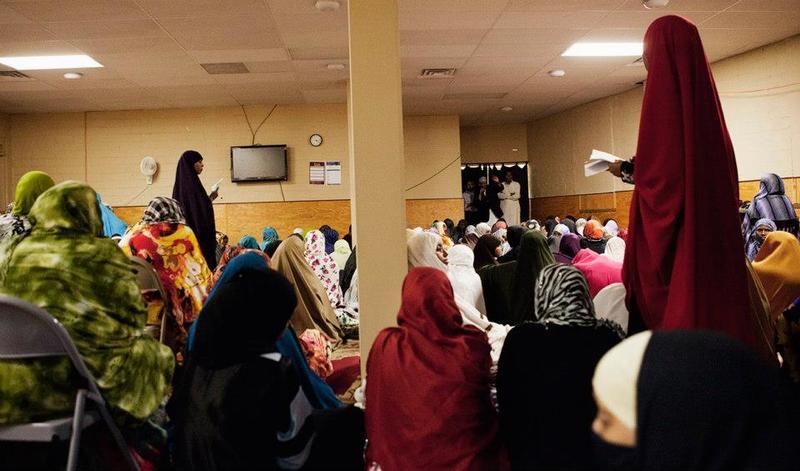 Women's Prayer Room, Ramadan and Eid, 2013