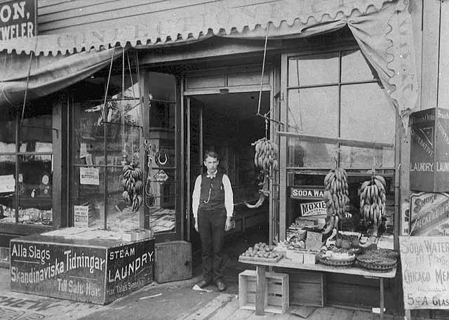 Original Samuelson's Confectionary, 1515 Washington Avenue South, 1890