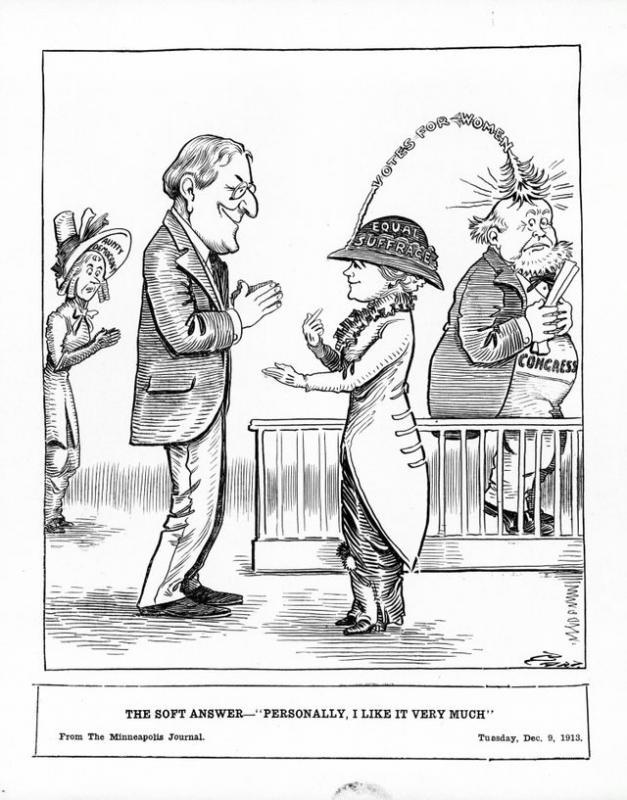 "Charles Bartholomew, ""The Soft Answer,"" <em>Minneapolis Journal</em>, December 9, 1913"