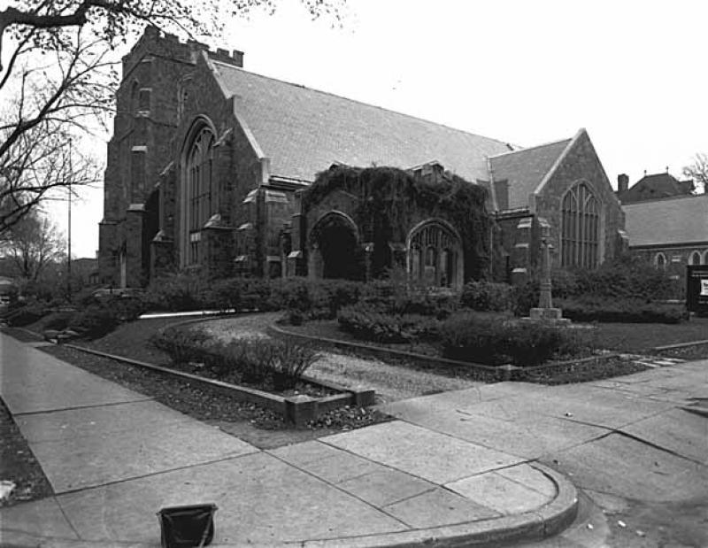 Plymouth Congregational Church Courtyard
