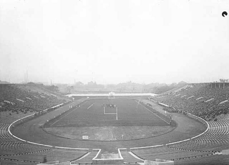 University of Minnesota's Newly Completed Memorial Stadium.