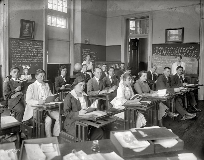 """Citizenship School,"" ca. 1920"