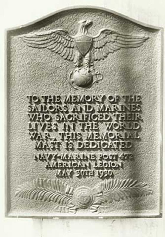 Lake Calhoun World War I Memorial to Minnesota Sailors and Marines