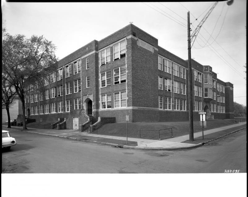 Lincoln Junior High School, 1963