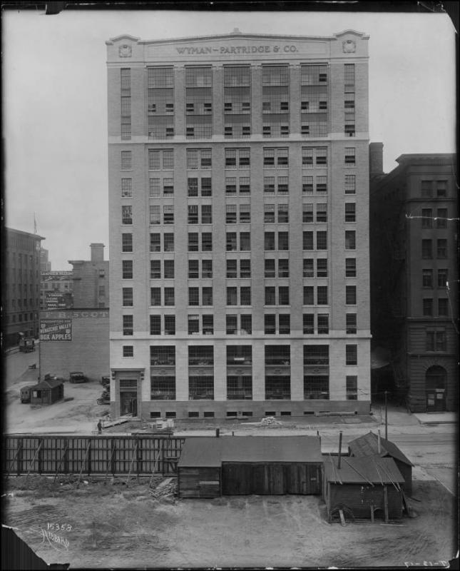 The Wyman, Partridge and Co. Garment Factory