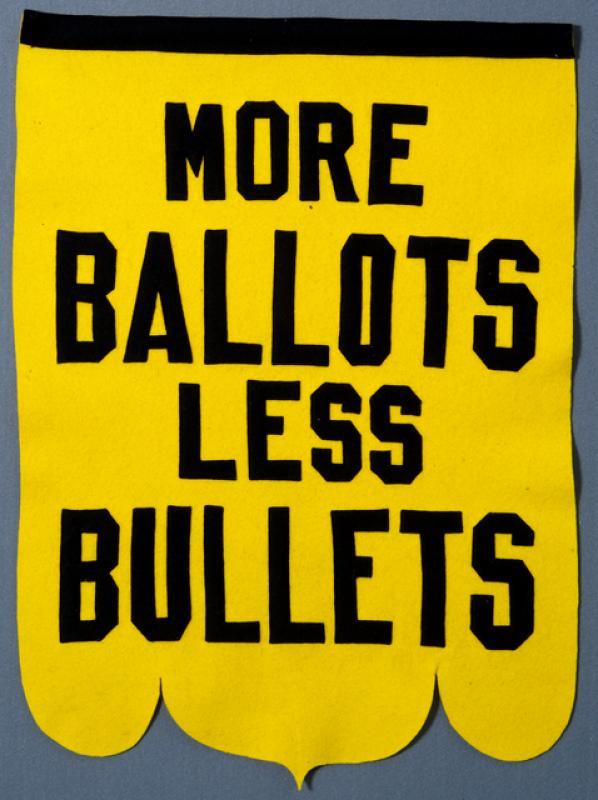 Suffrage Banner, ca. 1920
